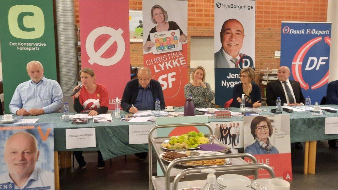 Vælgermøde om handicappolitik i Frederikshavn